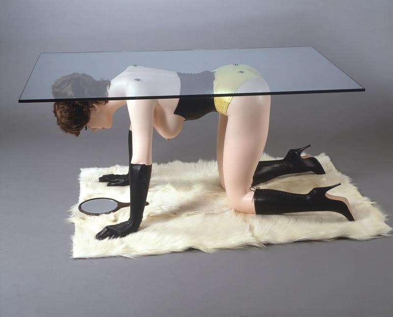 Allen Jones, Table, 1969. The Gallery Mourmans.