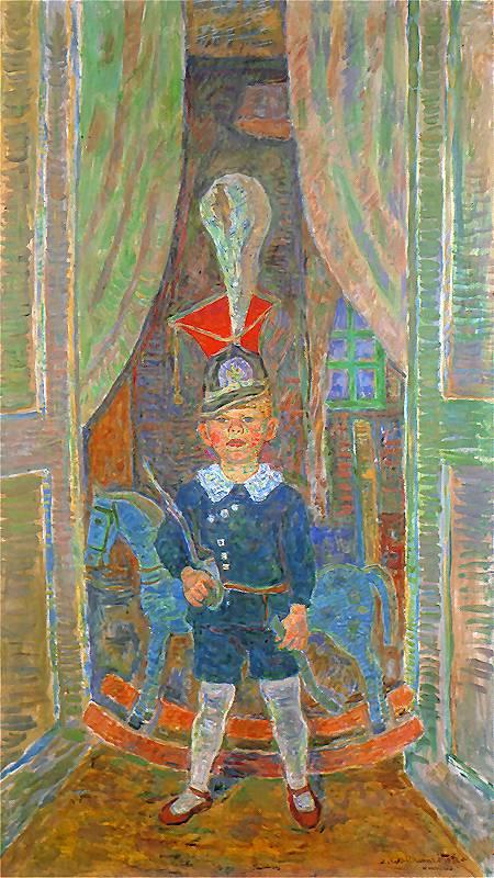 Zygmunt Waliszewski, Chłopiec w czaku, 1932