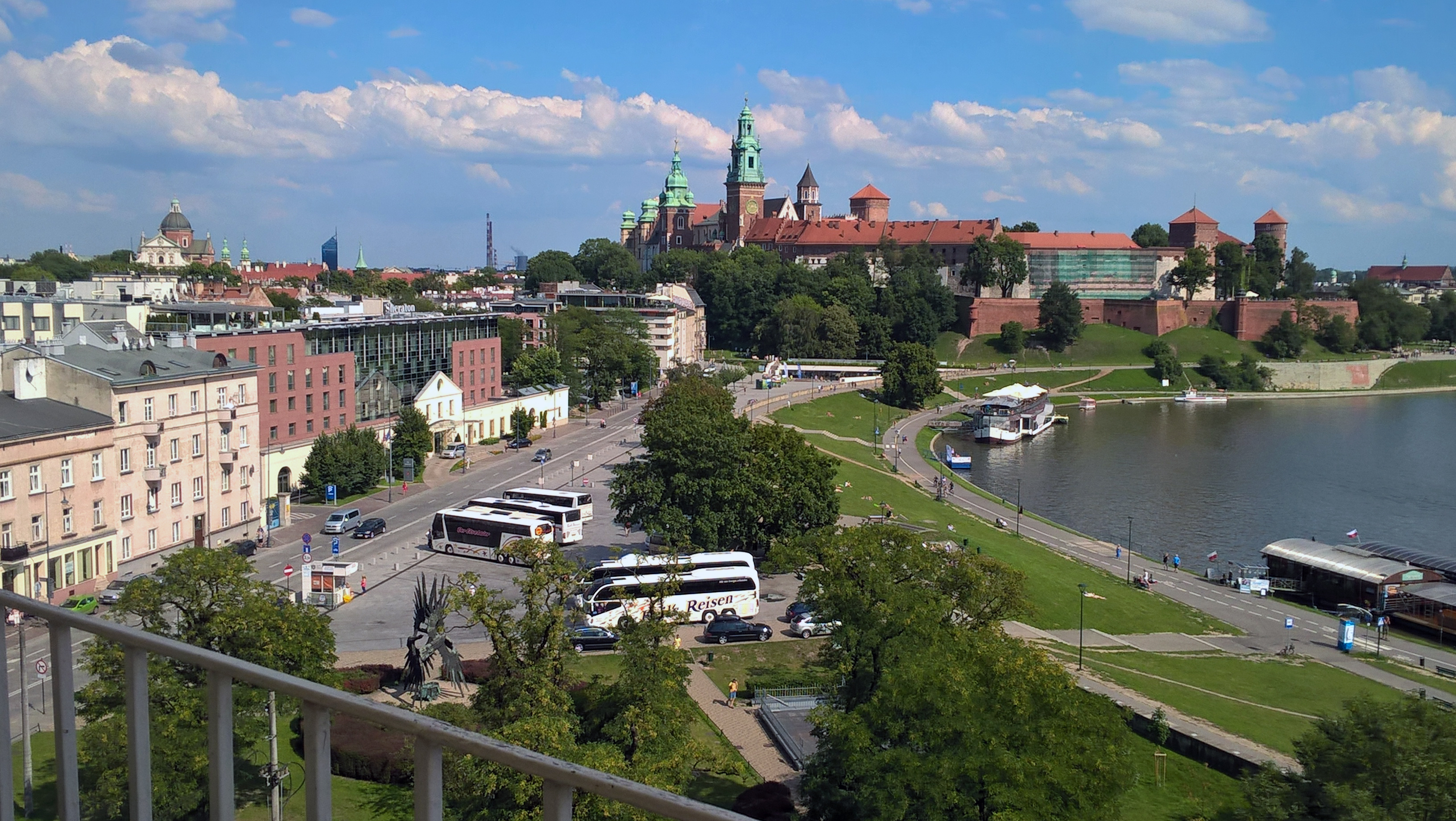 Widok na Wawel, fot. NOM