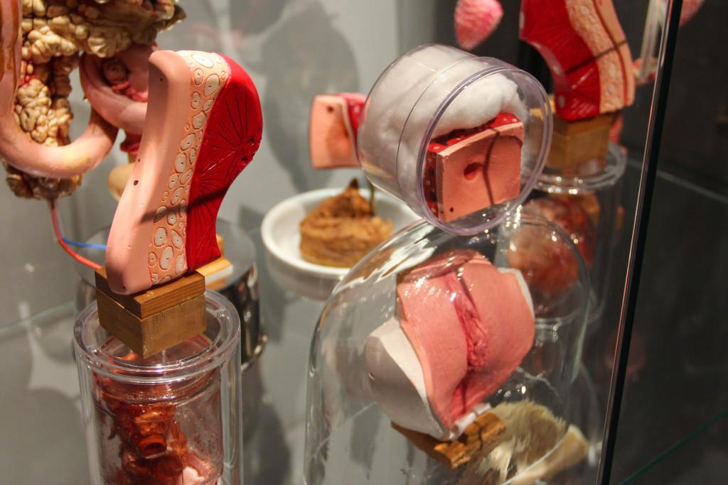 Philippe Mayaux, Reconstruction 2000-2012 (detal), z wystawy Le Surréalisme et l'objet, Centrum Pompidou, Paryż, fot: NOM