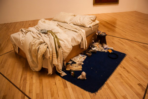 My Bed, Tracey Emin, źródło: https://www.flickr.com/photos/andyhay/20206791036/in/photostream/