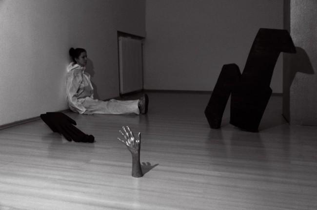 Nieskończoność – cień ręki, cz. II, Galeria Miasta Trzyniec, Czechy, 2015