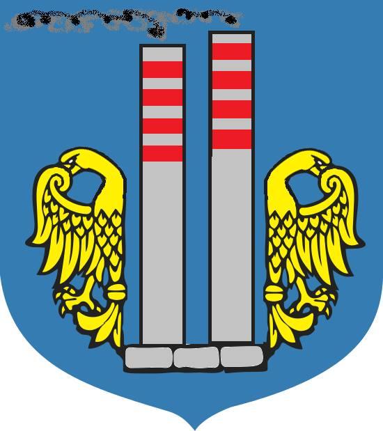 Karykatura herbu miasta Oświęcim. Autor: Bartłomiej Gieregowski