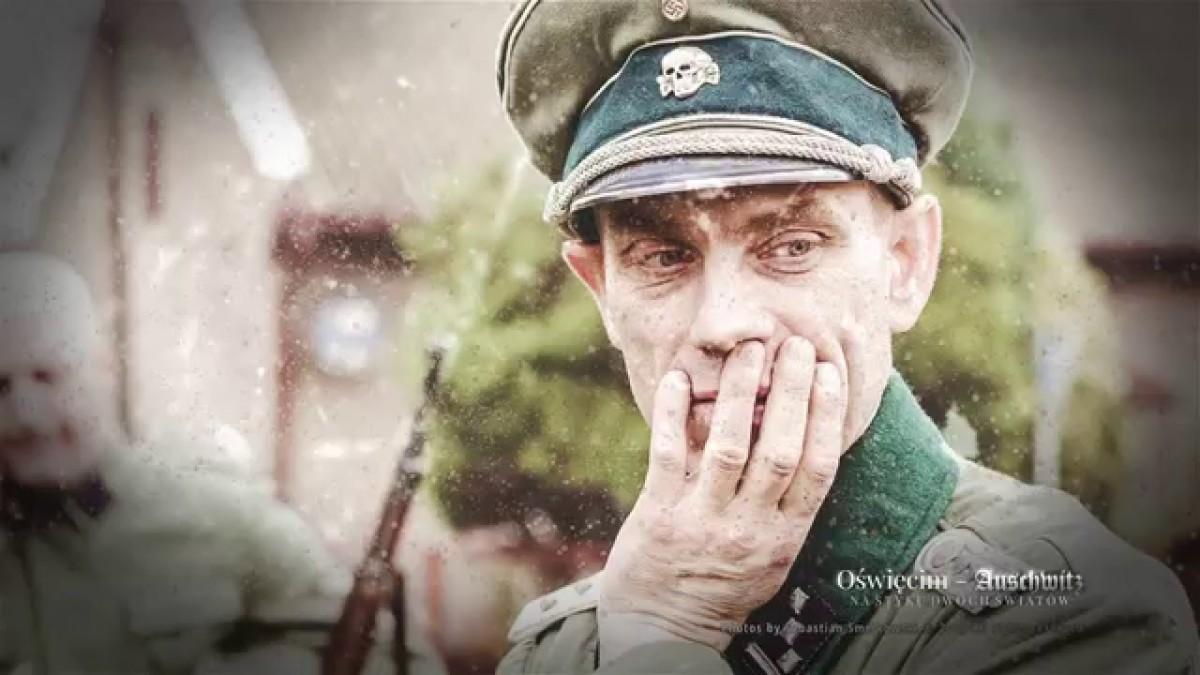 """Fot. Sebastian Smelkowski, zdjęcie z planu filmu """"Oświęcim-Auschwitz. Na styku dwóch światów"""""""