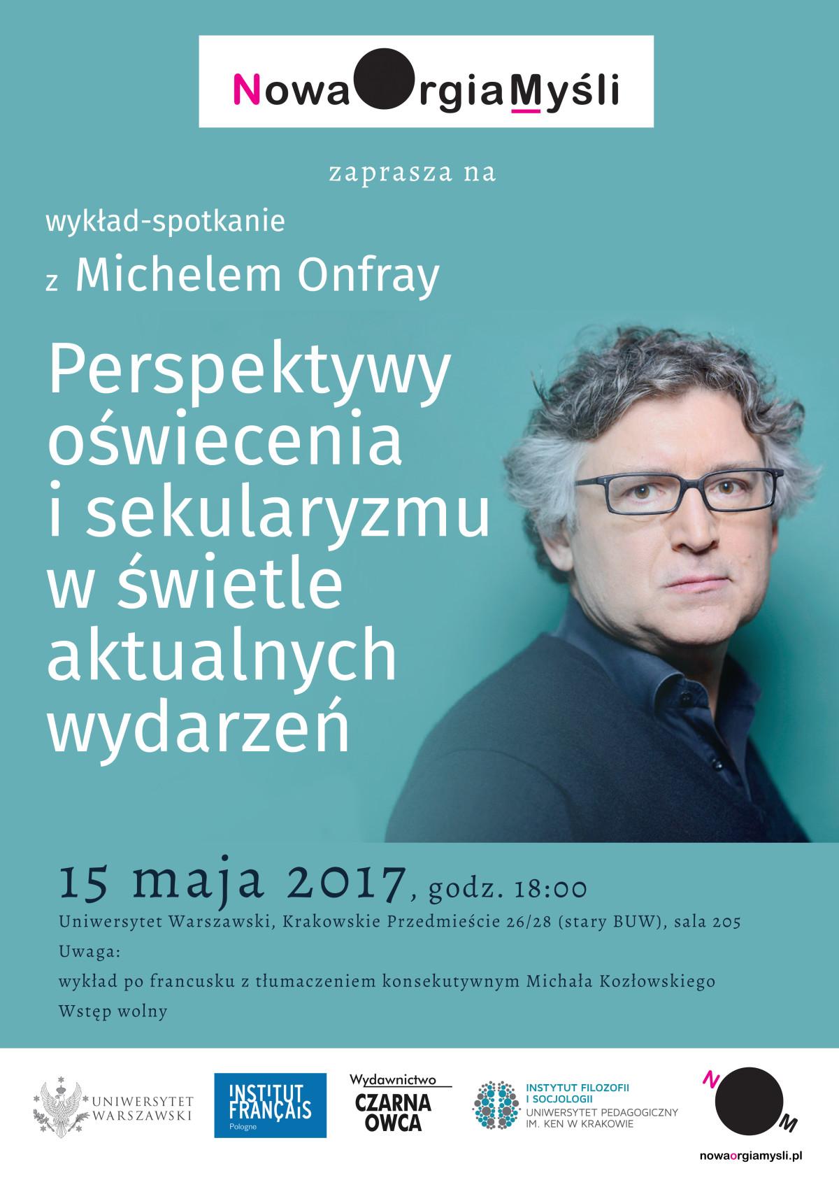 plakat Michel Onfray