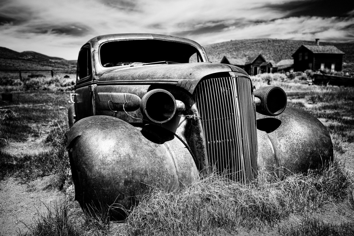 black-and-white-car-photography-vehicle-usa-america-1285985-pxhere.com