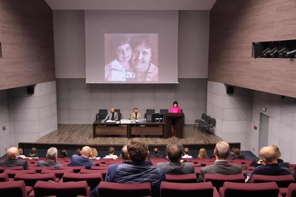 Wykład Iwony Demko na rozpoczęciu roku akademickiego 2017/18 na Wydziale Rzeźby