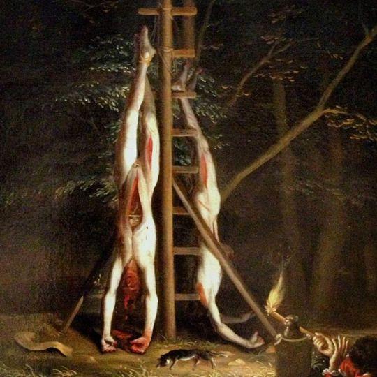 Jan de Baen - ciała braci de Witt