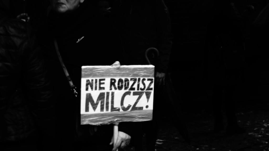 3 października 2016, Czarny Protest w Krakowie, fot. Kasia Prus