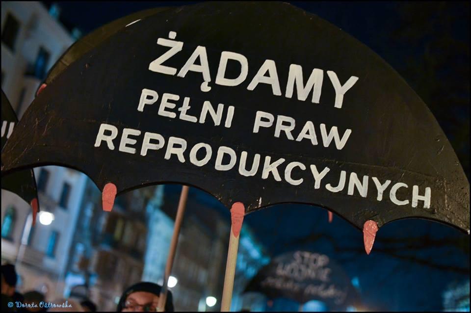 Deja vu, Strajk Kobiet 17 stycznia 2018 roku w Krakowie, fot. Dorota Ostrowska