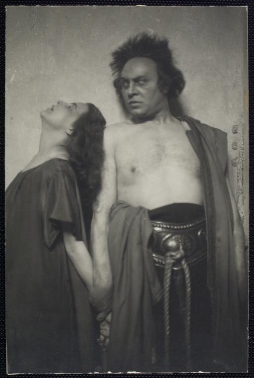 Antygona, Deutsche Theater, Berlin, Emil Jannings jako Kreon, 1920, via Wikimedia Commons