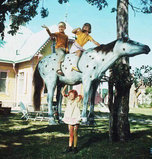 "kadr z filmu ""Pippi Langstrumpf""(1969)"
