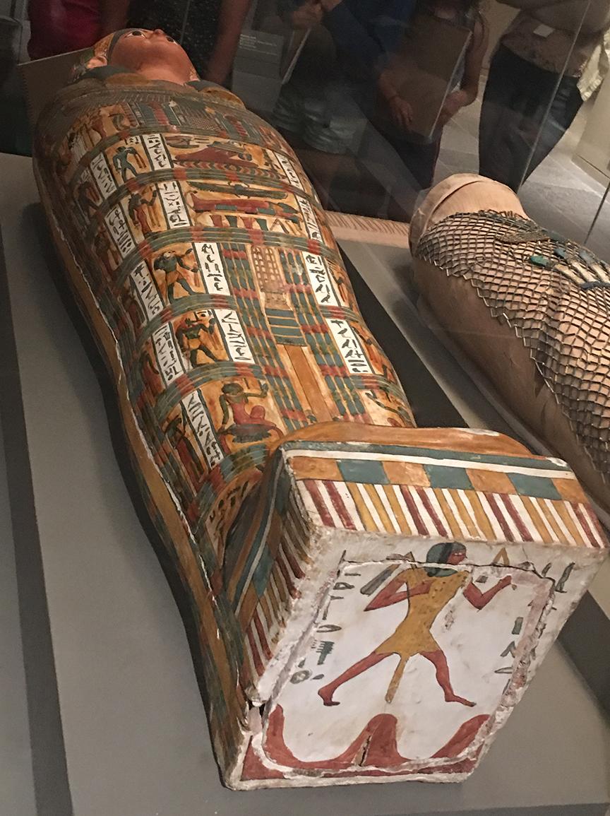 Sarkofag Nes-mut-aat-neru. Teby, 767-656 p.n.e. (Zbiory Museum of Fine Arts w Bostonie, fot. PP)