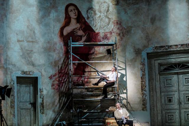 """""""Tosca"""", dyrygent: Tadeusz Kozłowski, reżyseria: Barbara Wysocka, Opera Narodowa-Teatr Wielki, Warszawa, 23 lutego 2019, zdjęcia: Krzysztof Bieliński/Opera Narodowa-Teatr Wielki"""