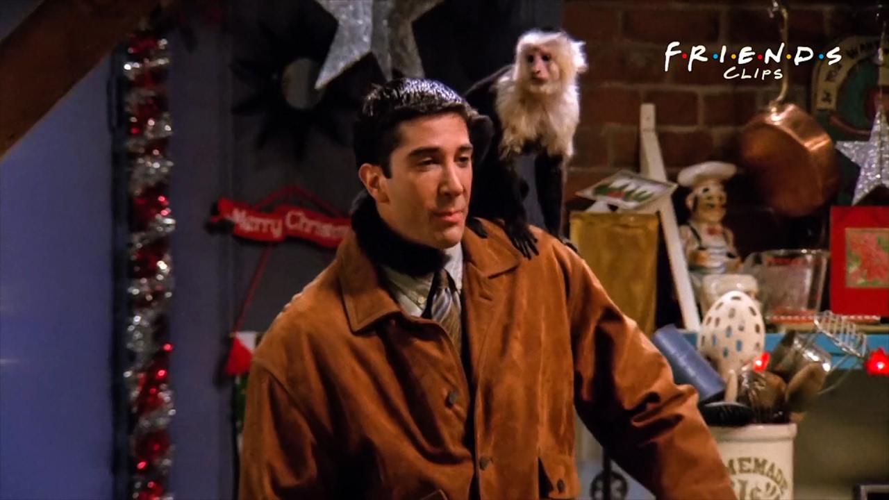 kadr z serialu Friends