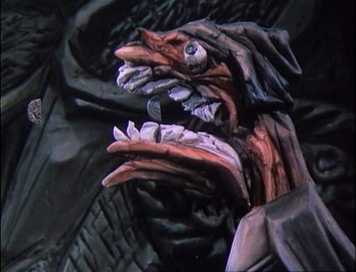 kadr z filmu animowanego SZCZUROŁAP | KRYSAŘ, 1985, reż. Jiří Bárta